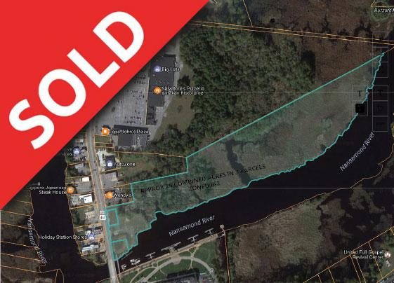 Commercial property auction, Nansemond River, Suffolk, VA