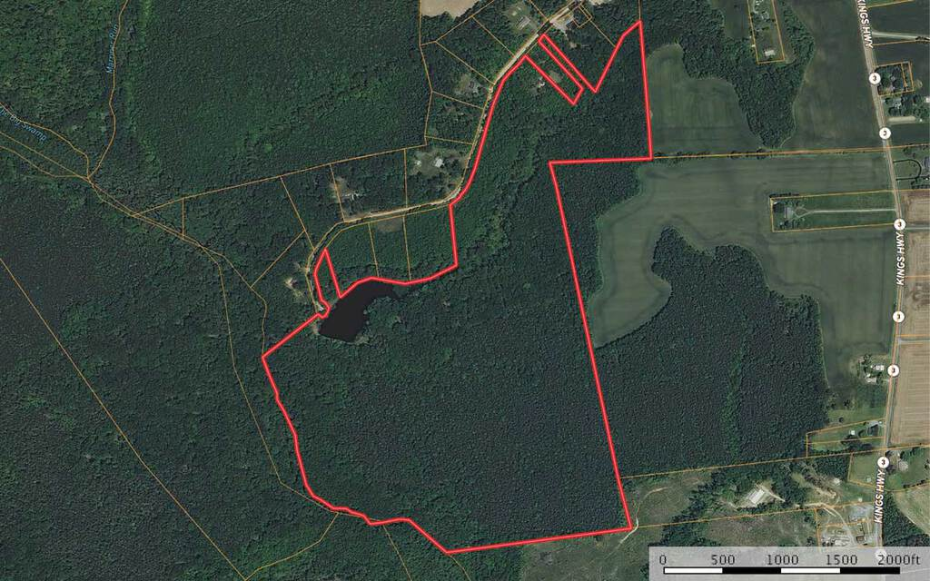125 ± Ac  in Northern Neck of VA - ABCole and Associates