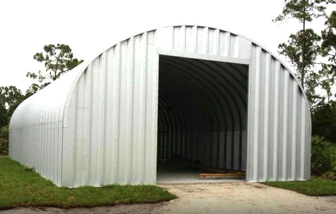 Image of Steelmaster Building Assembled - ABCole and Associates